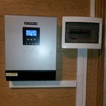 Инвертор на газовый котел, холодильник и свет