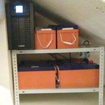 Он-лайник для котла отопления, освещения и ТВ