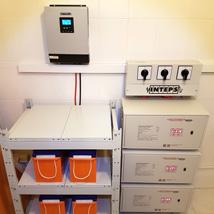 Стабилизаторы на 3-и фазы и инвертор на автоматы