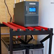 ИБП для газового котла со стеллажем