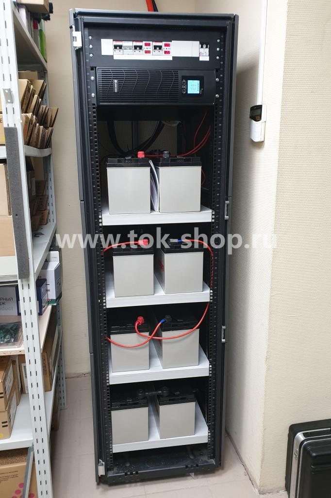 ИБП для сервера в стойке с внешними аккумуляторами