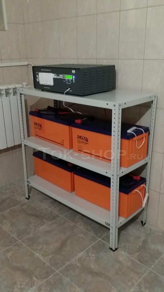Инвертор МАП Энергия и Delta DTM 12 200l