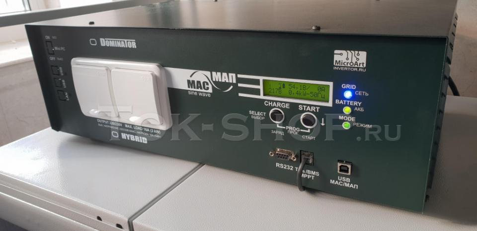 Экран инвертора МАП Энергия