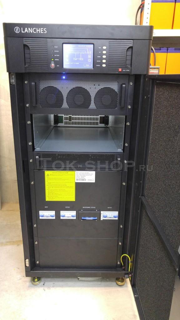 Один модуль на 20кВа (18кВт) в шасси на 40кВа