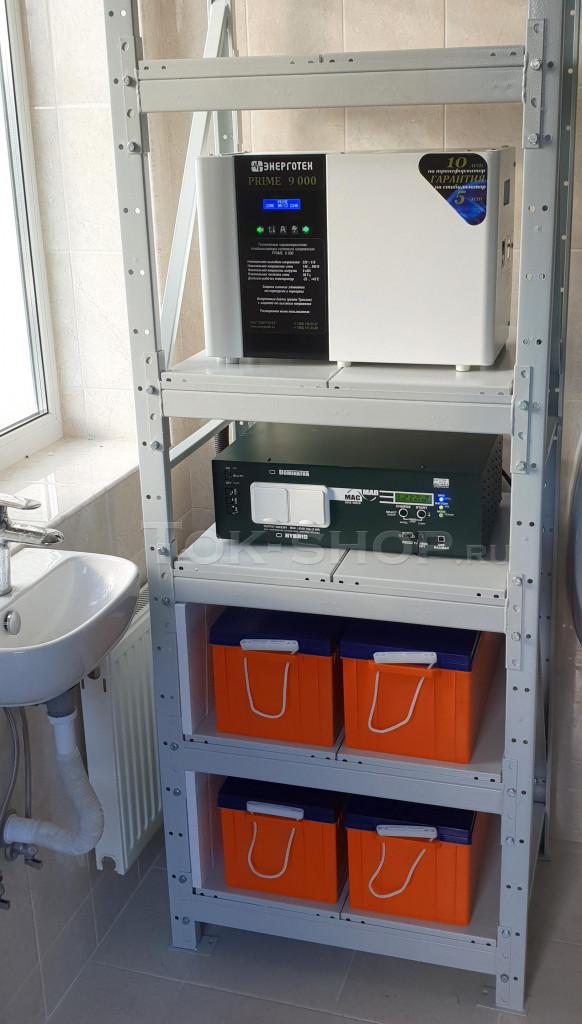 Инвертор МАП Энергия 6.0/48 и стабилизатор напряжения