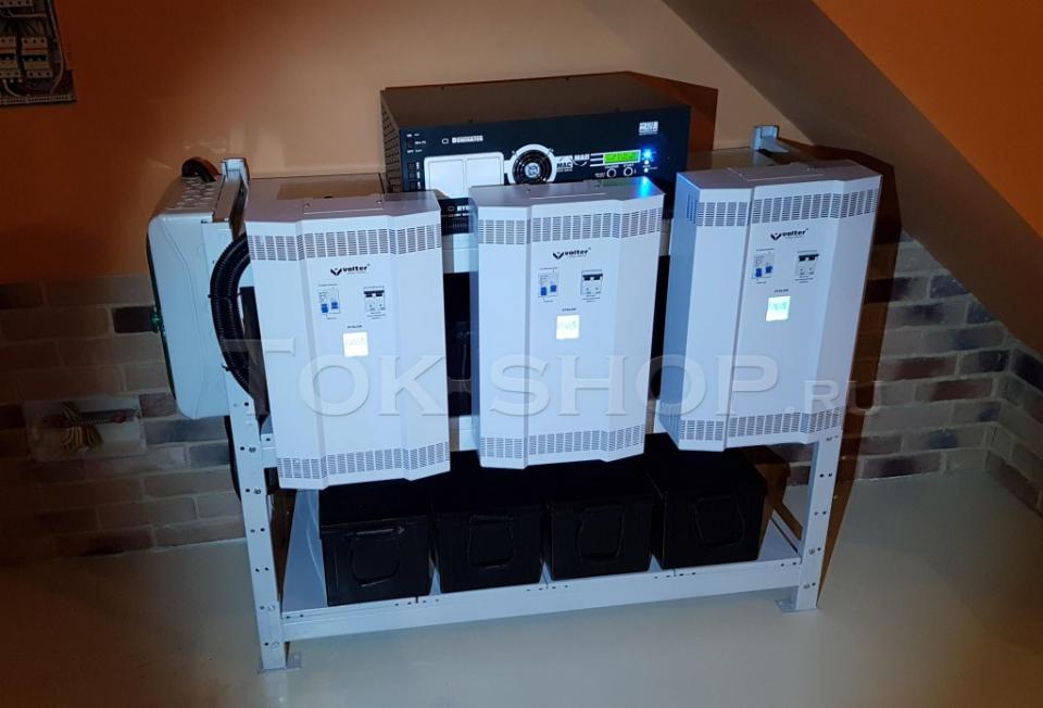 Инвертор для дома со стабилизаторами