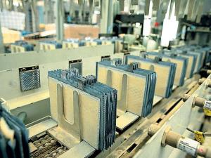 Производственная линия свинцовых пластин