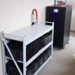 Трехфазный ИБП на 60кВа для загородного дома с ДГУ